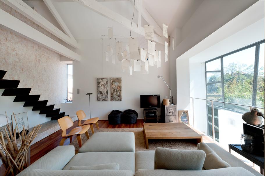 Decoration Interieur Maison Architect Avec Poutres